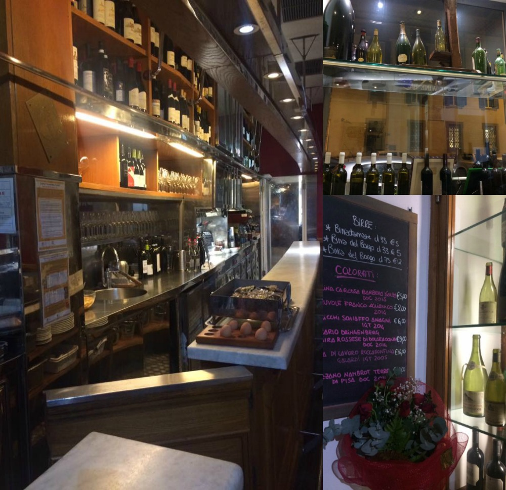 Trimani Wine Bar, scorci dal banco