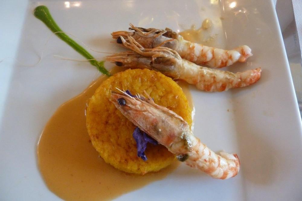Trattoria Visconti, Ambivere, tortino di riso