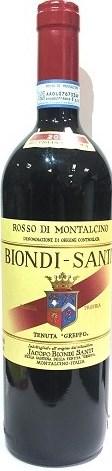 Biondi Santi Rosso di Montalcino 2014 fascia rossa