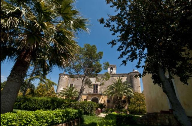 La villa fortino nel cuore della proprieta' 'Conca del re' a Castrovillari
