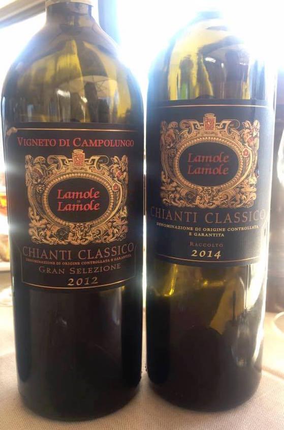 Lamole di Lamole - Chianti Classico Vigneto di Campoluongo (sx) e Chianti Classico (dx)