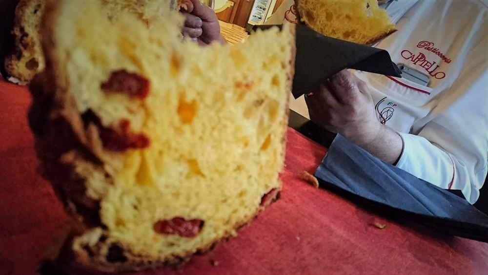 Gran Caffe' pasticceria Michele Cappiello – 'colomba conciata' al taglio