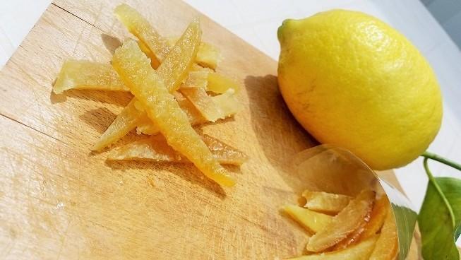 Le scorzette di limone