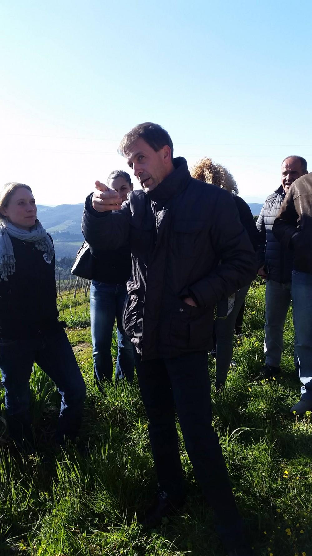 Lamole di Lamole - L'enologo Andrea Daldin