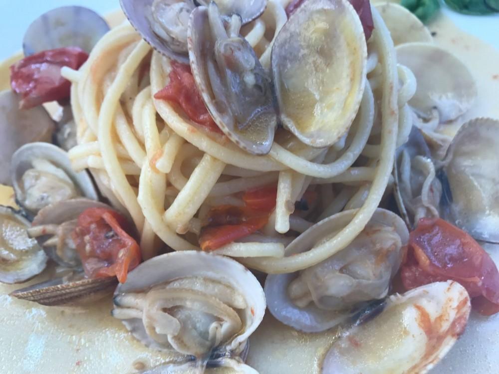 'A Figlia do Marinaro, spaghetti con le vongole