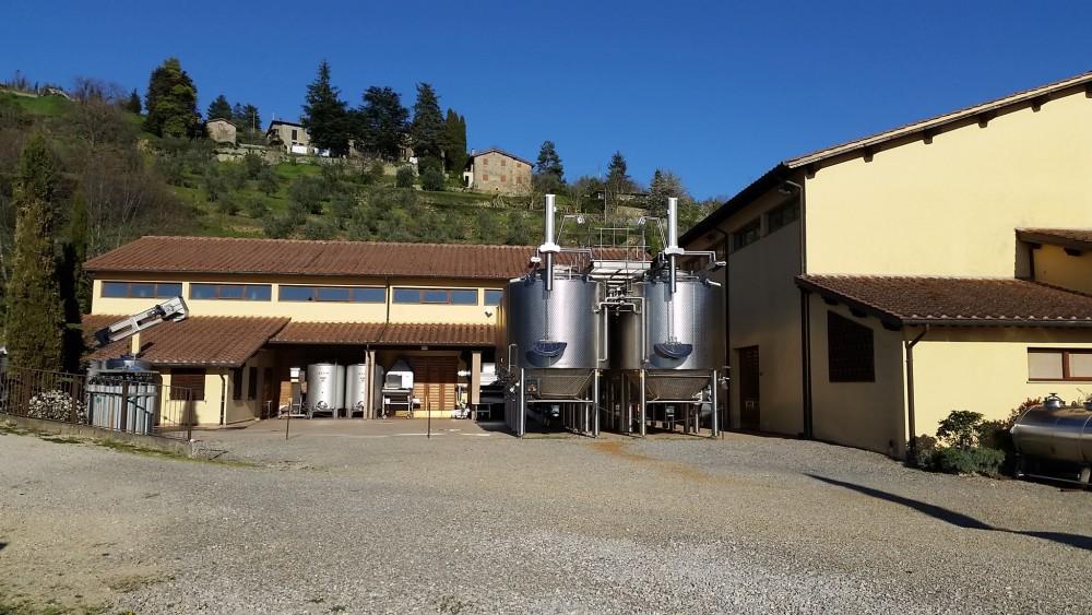 Lamole di Lamole - L'area dedicata alla produzione del vino