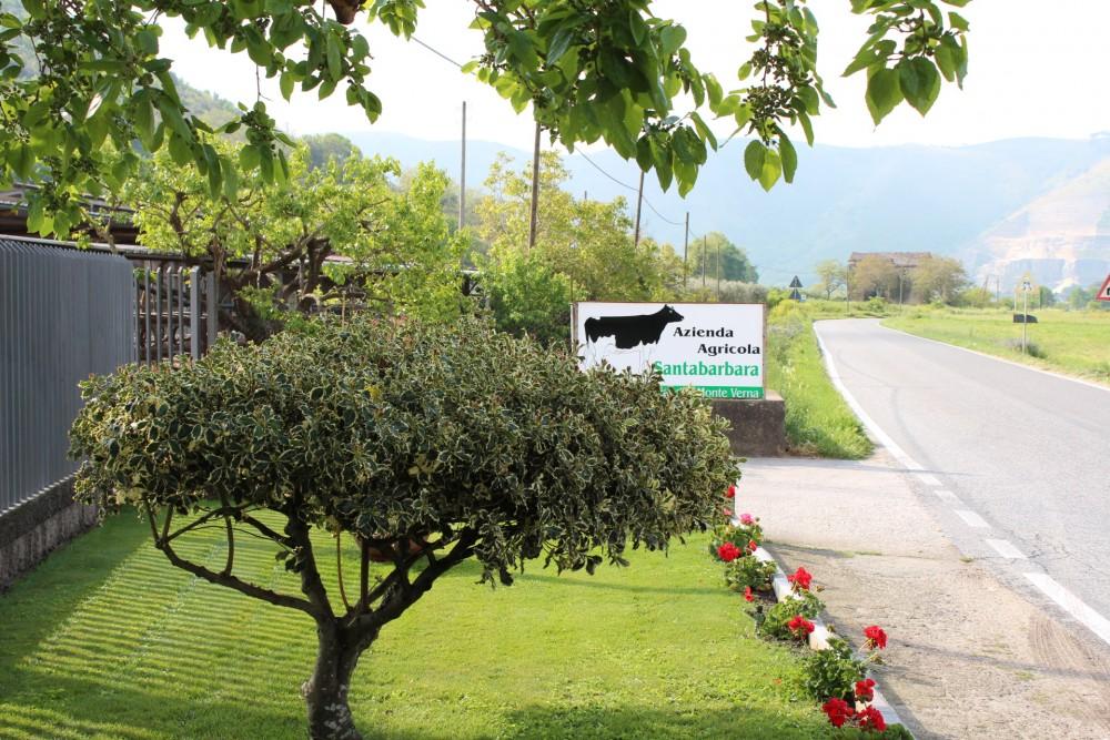 Caseificio La Teresina l'esterno dell'azienda