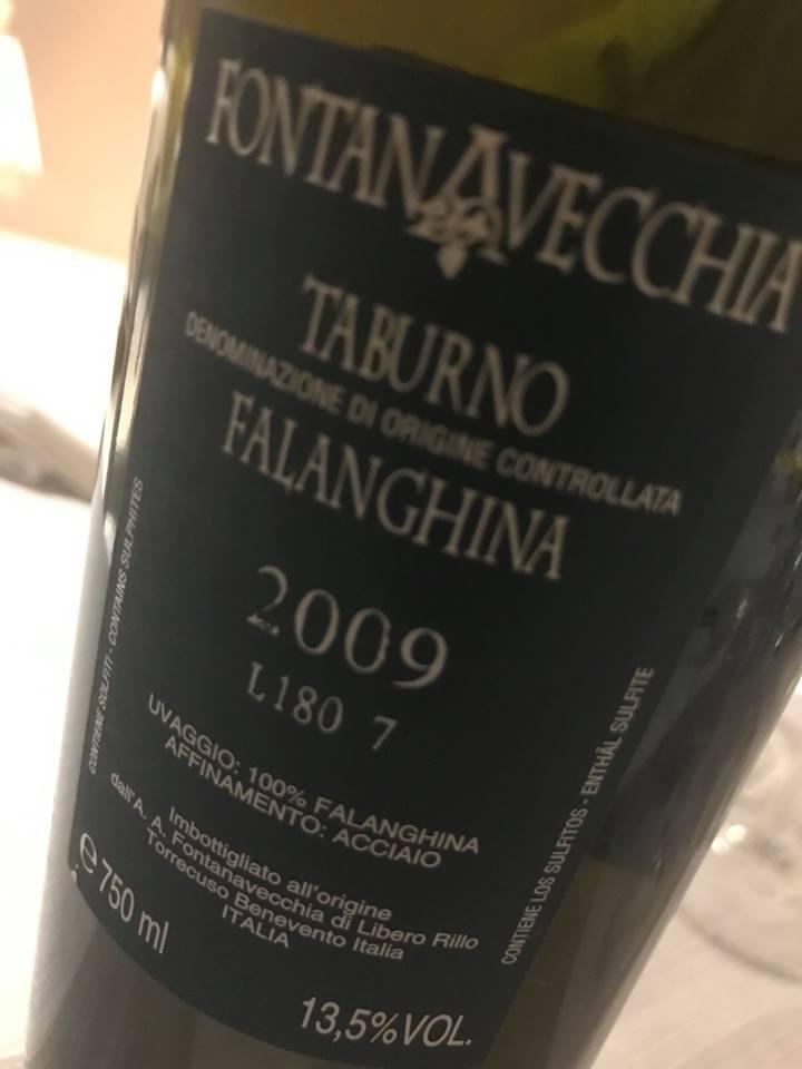 Falanghina Taburno doc 2009, Fontanafredda