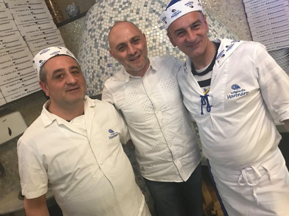 ' A figlia do Marinaro, i pizzaioli con Attilio Albachiara
