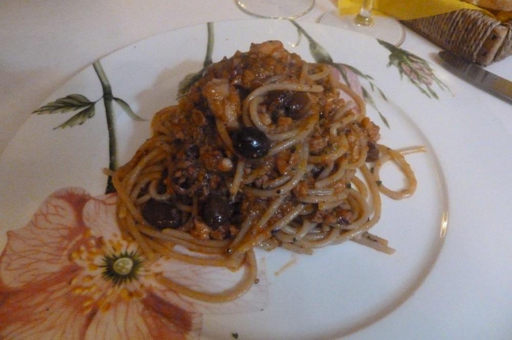 Buona Condotta, spaghetti di grano antico