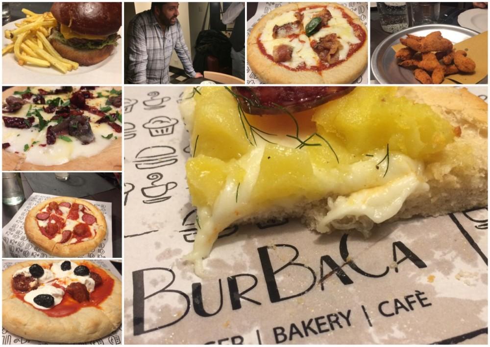 BUR BA CA e le sue pizze Deep Dish