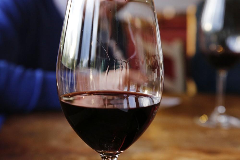 Bicchiere di Aglianicone