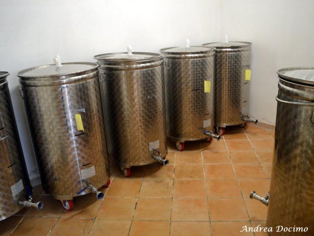 Birrificio Il Chiostro di Nocera Inferiore. I fermentatori