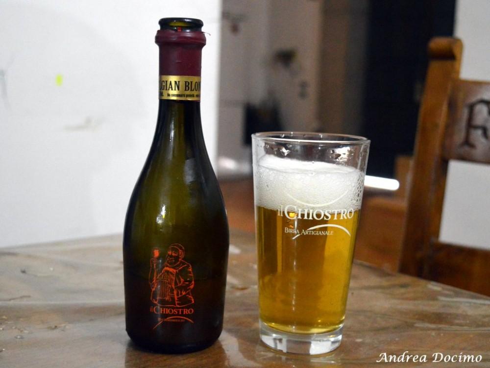 Birrificio Il Chiostro di Nocera Inferiore. La Belgian Blond
