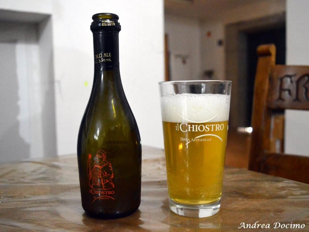 Birrificio Il Chiostro di Nocera Inferiore. La Gold Ale
