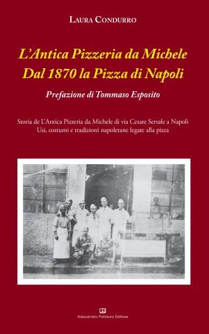 Copertina libro Antica Pizzeria Michele