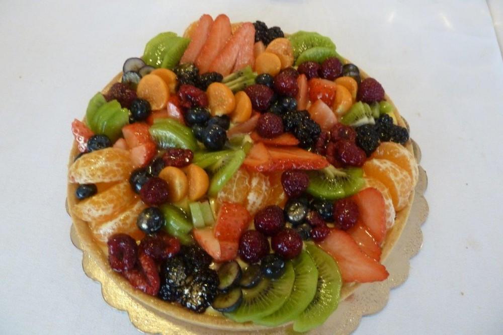 Crostata di frutta fresca by Giulia