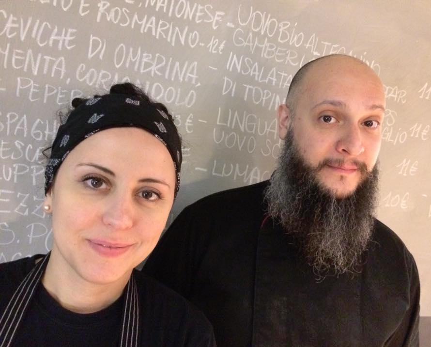 Francesca Barreca e Marco Baccanelli
