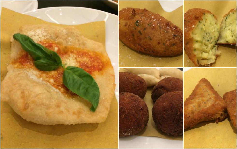 Giulietta, i fritti napoletani
