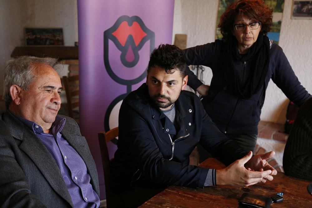 Giuseppe Capo, Ciro Macellaro e Paola De Conciliis