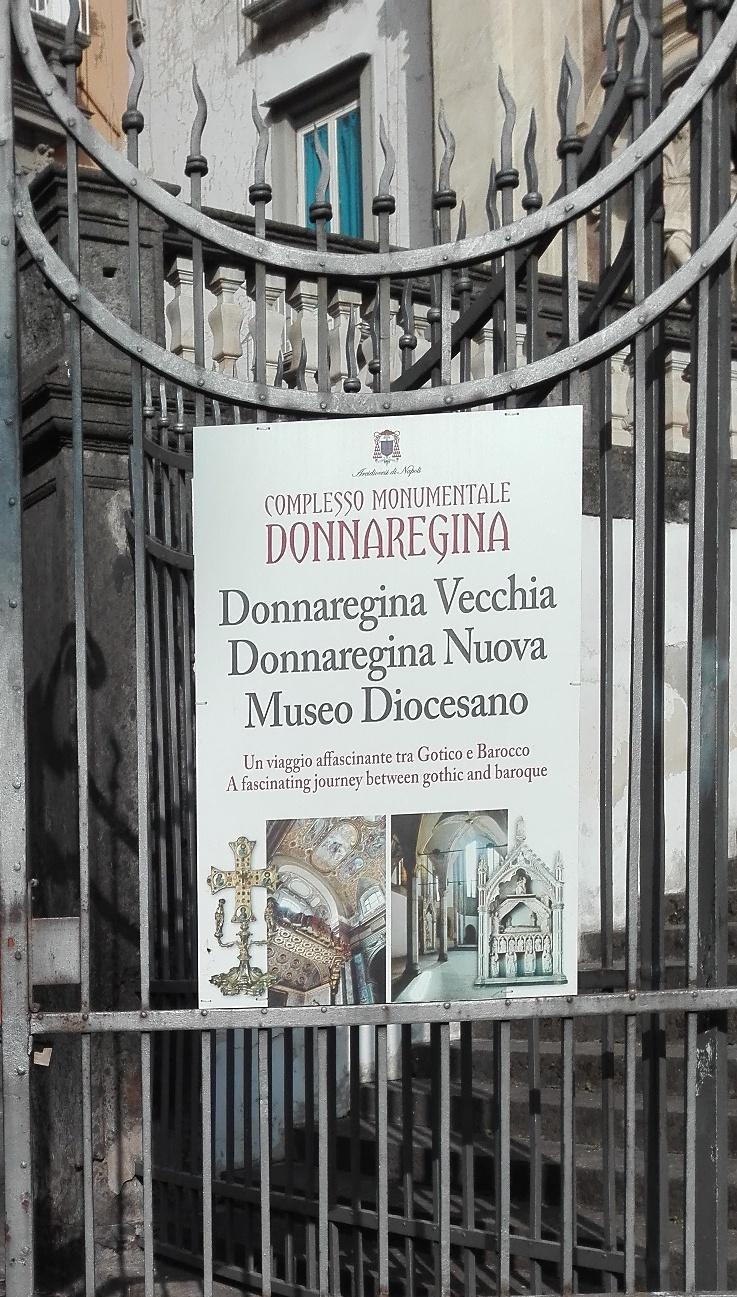 Campania Stories 2017,Museo Diocesano Napoli - Chiesa di Donnaregina Vecchia e Nuova