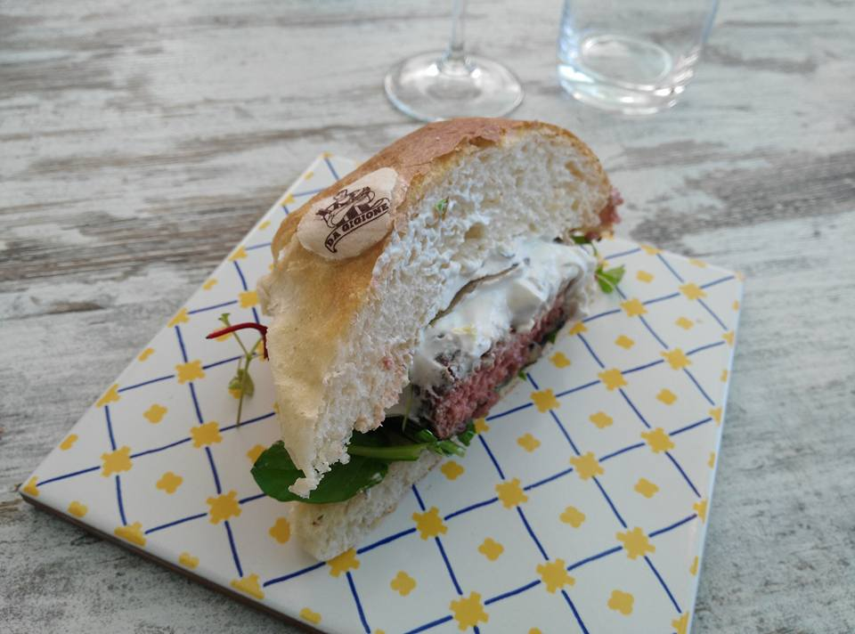 Il panino di Gigione il primo giorno di LSDM 2017