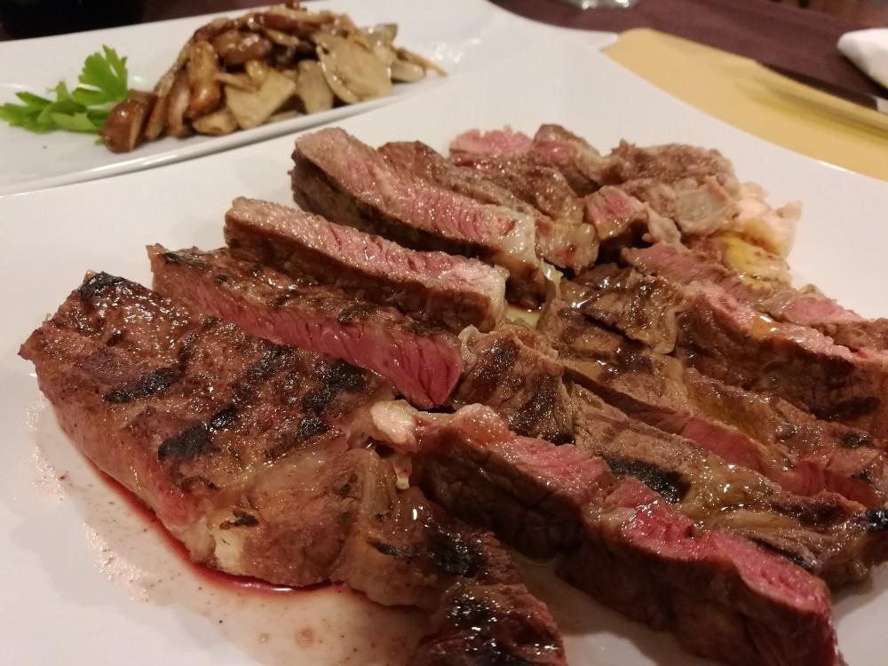 Koine' Soul Food, tagliata di vitello