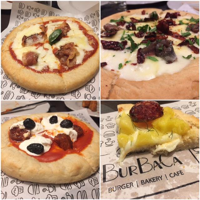 Le 4 local Deep Dish la pizza romana, la viterbese, la Potenza e la Matera