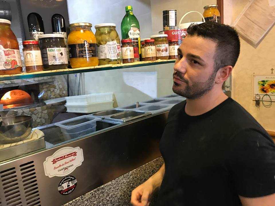 Pizzeria Ciarly, Raffaele Bonetta