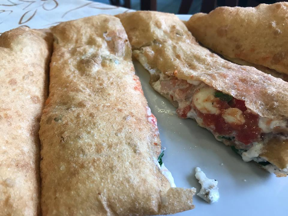Pizzeria Ciarly, la pizza fritta