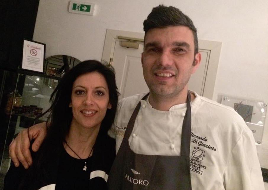 Ramona Anello e Riccardo Di Giacinto