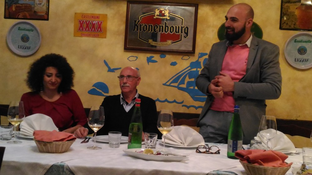 Ristorante Le Macine, Anna Carla Tredici, Enrico Malgi ed Andrea Giuliano
