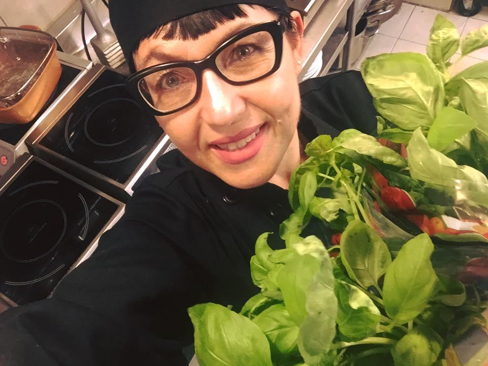 la chef Rosanna Di Michele