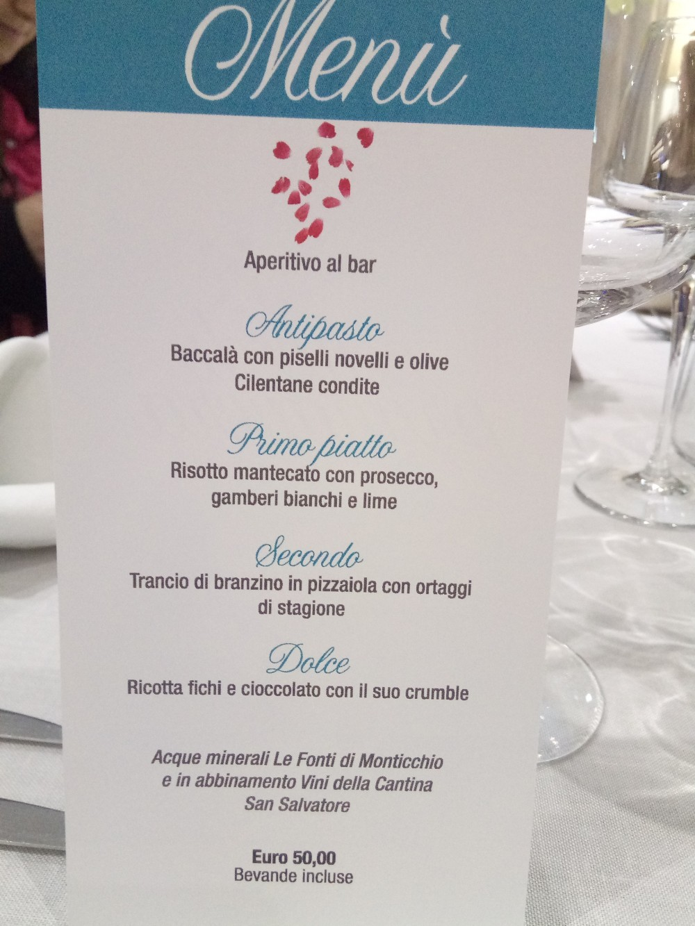Rumi Restaurant Menu'