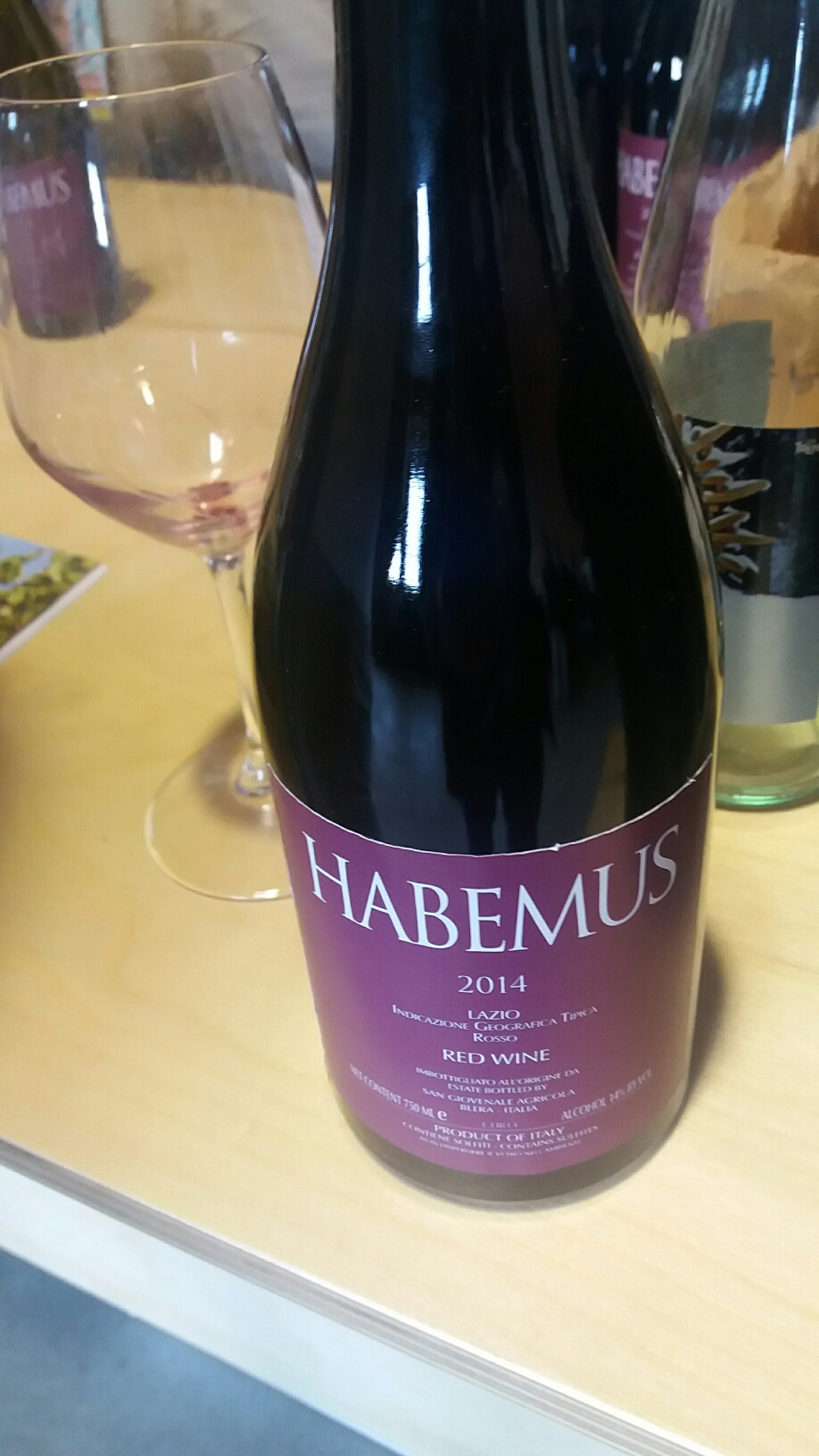 San Giovenale - Habemus etichetta rossa