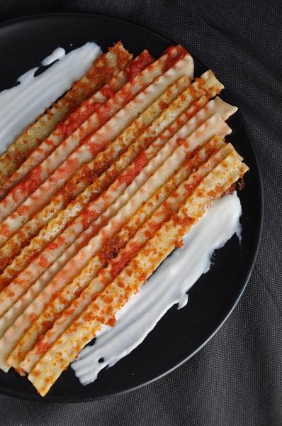 Sfumature di rosso Reginette con pomodoro in 3 consistenze