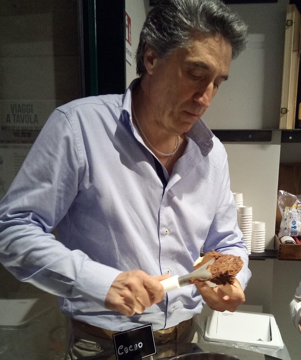 Storie di Pane, Gelatiere Raffaele Del Verme