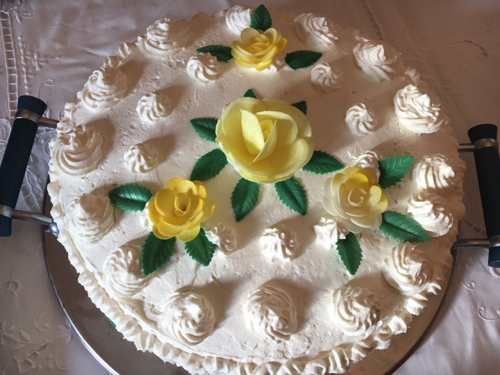 La Tavola di San Giuseppe - Torta alla crema