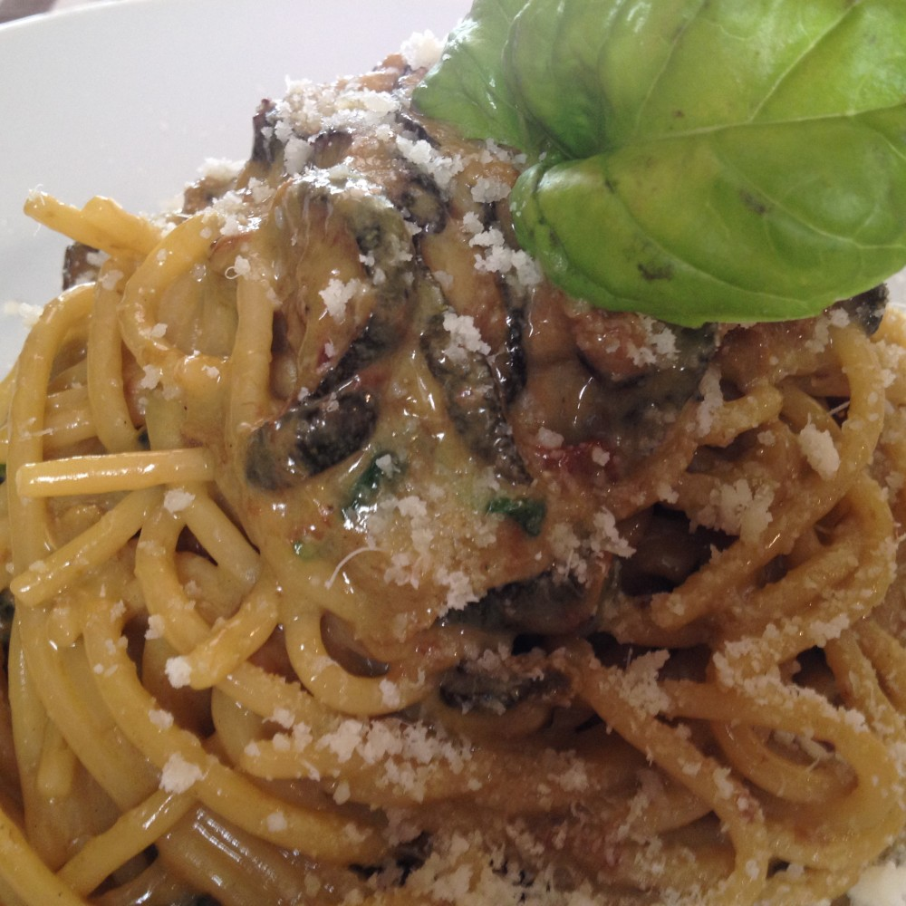 Trattoria Eughenes, spaghetti alla Nerano