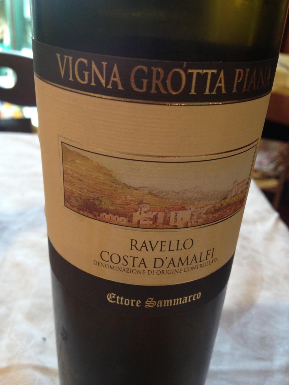 Trattoria da Raffaele, il vino