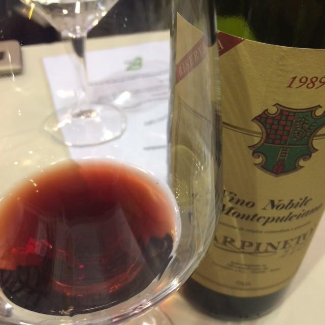 Vino Nobile di Montepulciano Riserva 1989
