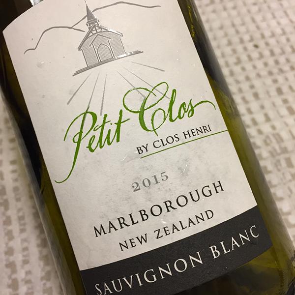 Marlborough Sauvignon Blanc Petit Clos 2015 Clos Henri