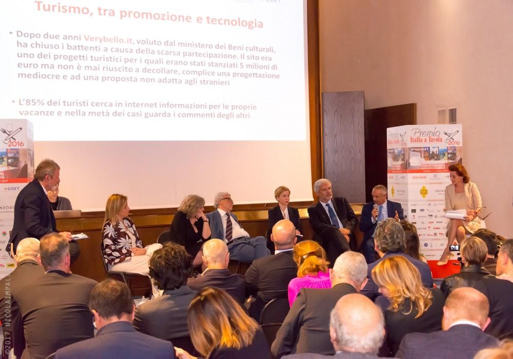 Premio Italia a tavola, convegno