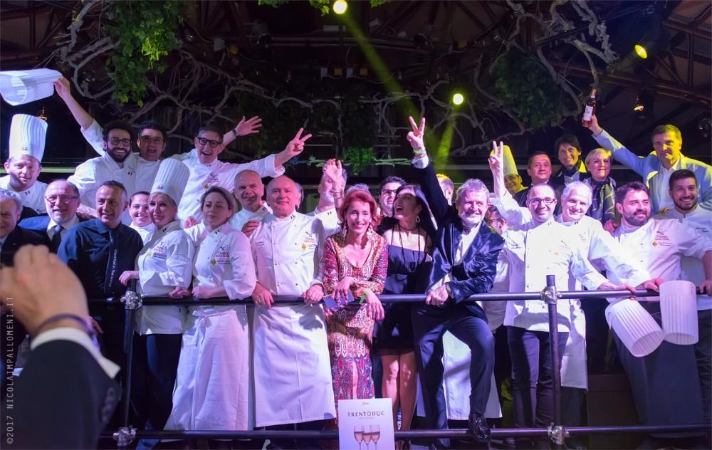 Esultazione finale, premio Italia a tavola