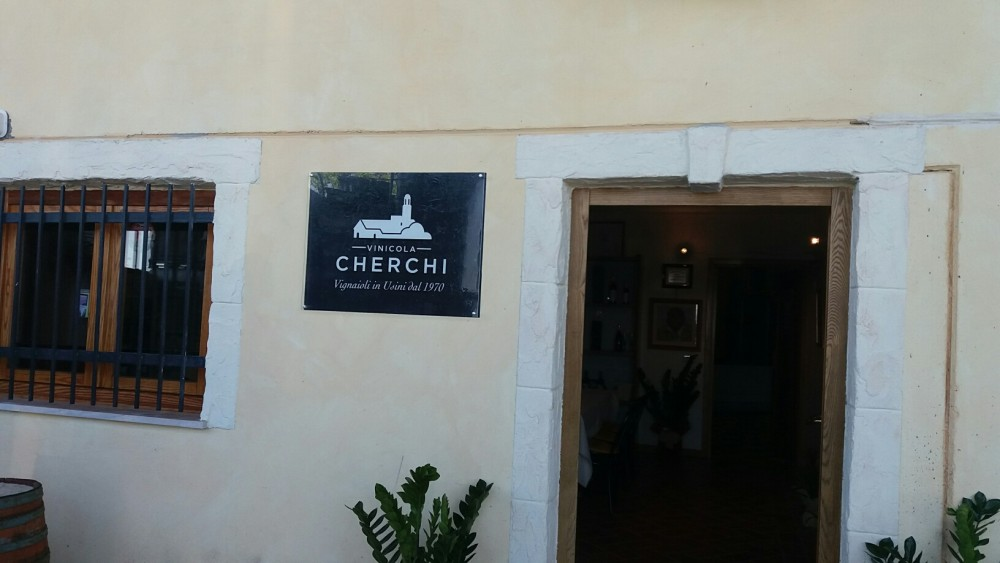 Cherchi, ingresso dell'azienda