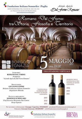 Romano Dal Forno, locandina 5 maggio