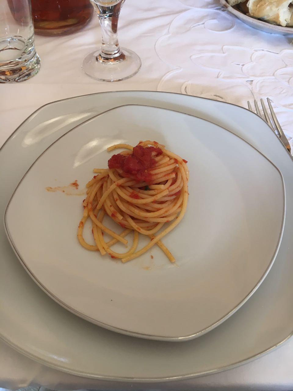La Tavola di San Giuseppe - spaghetti al pomodoro