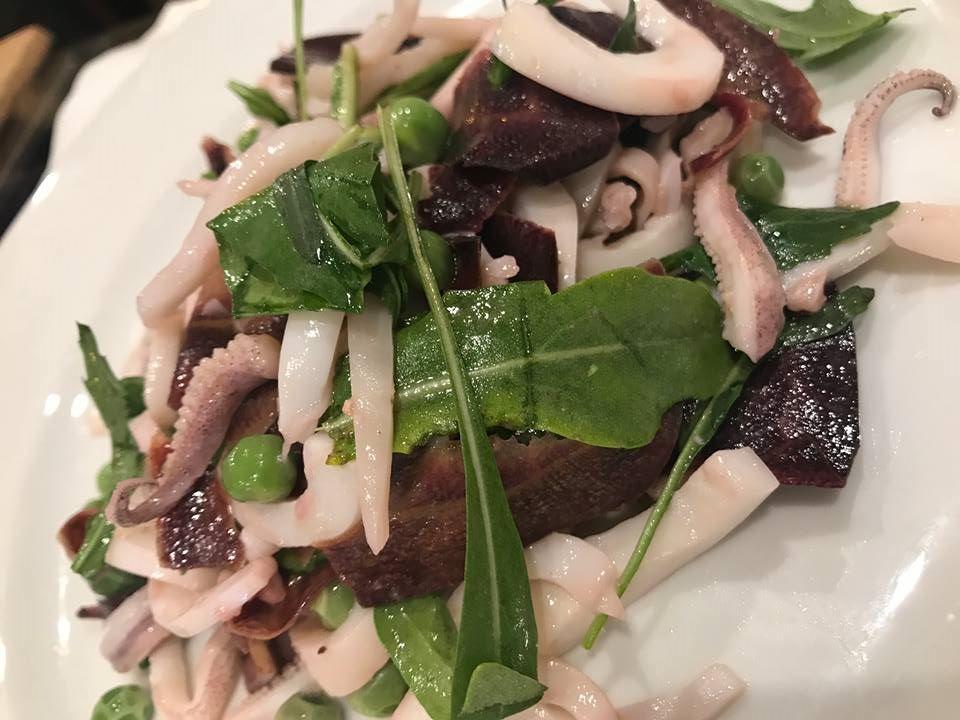 La Cantina di Triunfo, insalata di calamari