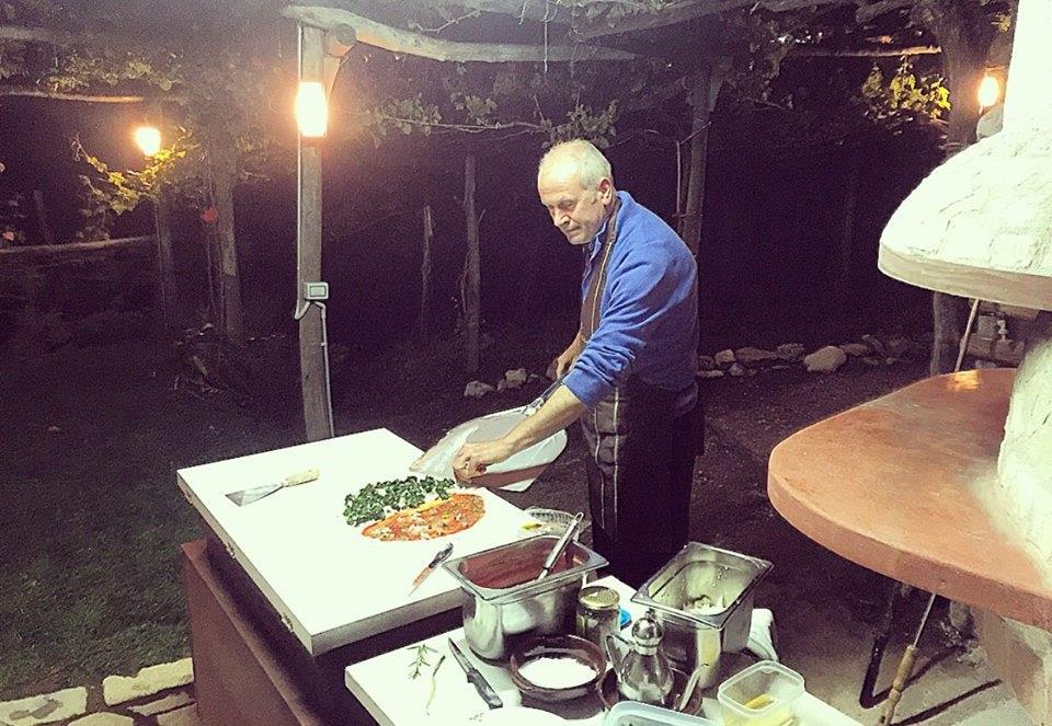 Le vie della pizza di Tramonti - Francese - Home Restaurant Il Tintore