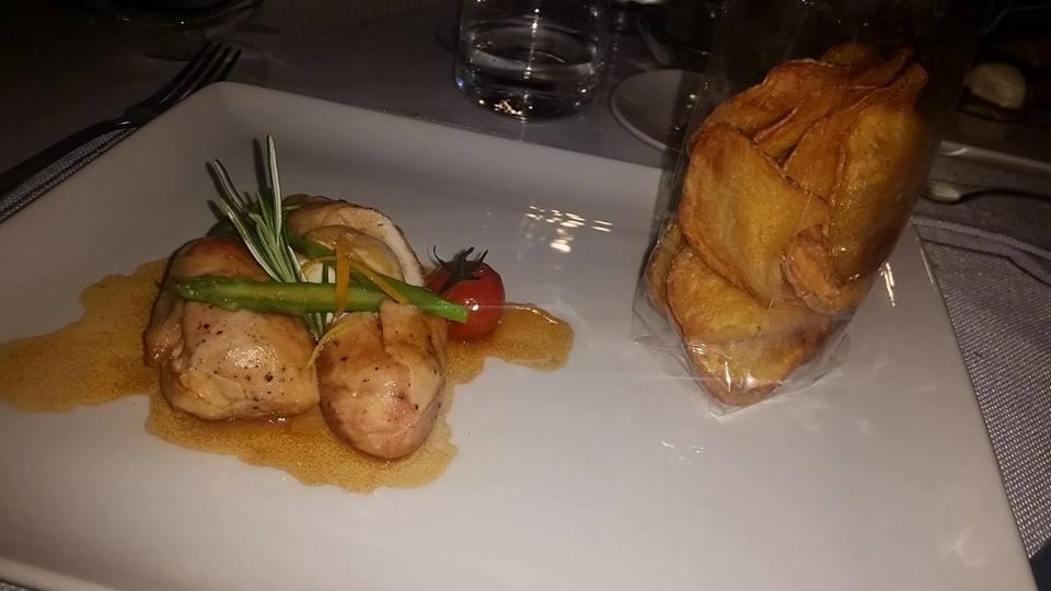 Masseria Guida - Polletto alle erbe con chips